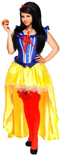 Daisy Corsets Women's 5 Piece Sexy Poisoned Apple Costume