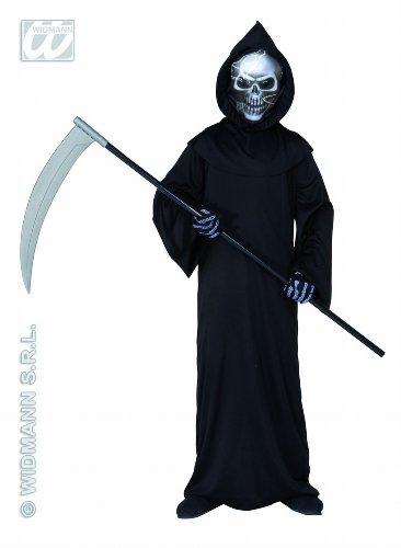 Widmann WDM55508 - Costume Per Bambini Grim Reaper (158 cm/11-13 Anni ), Nero, S