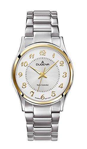 Dugena-Reloj de pulsera analógico para mujer cuarzo acero inoxidable 4460552