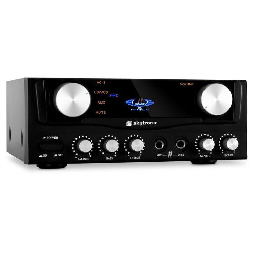 Skytronic Compact Hi-If PA Amplifier (2x Mic Inputs Black Friday & Cyber Monday 2014