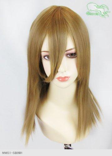 スキップウィッグ 魅せる シャープ 小顔に特化したコスプレアレンジウィッグ フェアリーミディ カプチーノ