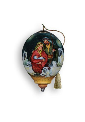 "Ne'Qwa Ornament ""Magical Nativity"", 3-Inches Tall, Designed by noted artist Susan Winget"