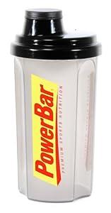 Powerbar Mix-Shaker schwarz-transparent 0,7ltr., 1er Pack (1 x 700 ml) from Powerbar