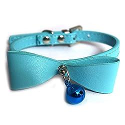 Pawzone Adjustable Blue Cat Collar