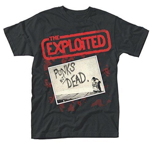 The Exploited -  T-shirt - Uomo Black Medium