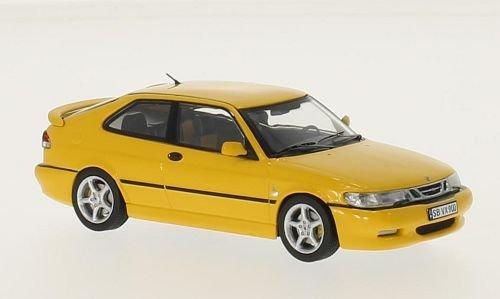 saab-9-3-viggen-giallo-1998-modello-di-automobile-modello-prefabbricato-premium-x-143-modello-esclus
