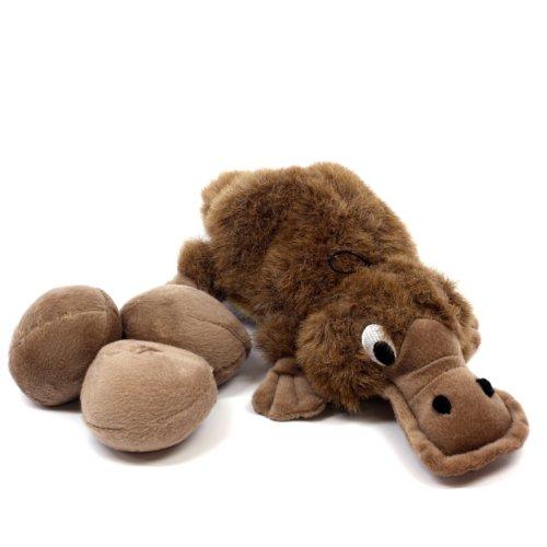 Kyjen Egg Babies Dog Toy, Original Series, Platypus
