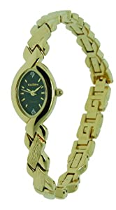 Elgin Women Diamond Collection Gold Bracelet Watch EG237N
