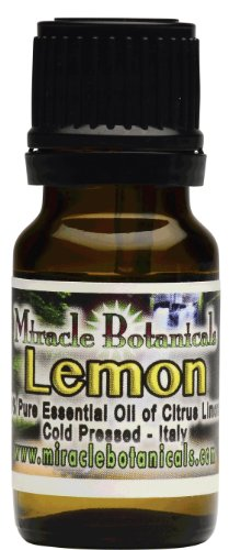 Lemon Essential Oil - 100% Pure Citrus Limonum 10ml