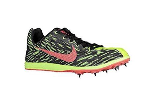 Nike Zoom Rival D 8 Men's Track Spike Running Shoes (US Men's 6.5 / US Women's 8, Electric Green/Hyper Punch/Black) (Spikes Running Nike Rival D compare prices)
