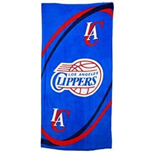 Buy McArthur Sports Los Angeles Clippers NBA Beach Towels by McArthur