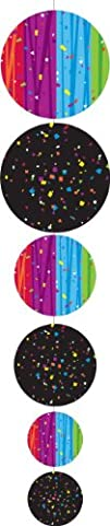 Creative Converting Party Decoration 4 Count Hanging Garland