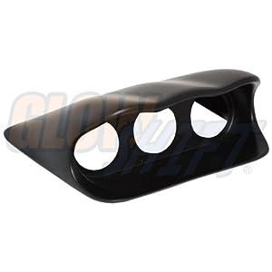 GlowShift 02-07 Subaru WRX & STi Fiberglass Triple Dash Gauge Pod