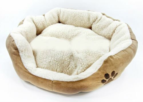"Nesting Bed High Quality Large Cotton Dog Cat Puppy Kitten Bed - 22""X17""X5"""