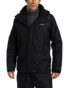 Columbia Men's Erudite II Interchange Jacket, Black, XX-Large
