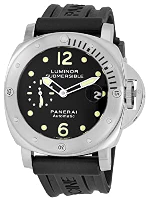 Panerai Men's M00024 Luminor Submersible Stainless Steel Watch