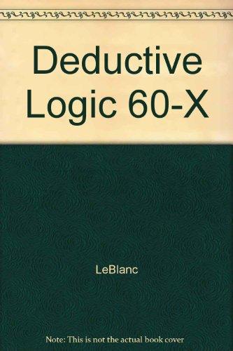 Deductive Logic 60-X