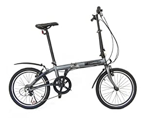 fBIKE Direct 6 Speed Folding Bike (Graphite gray)