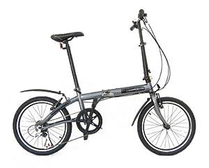 fBIKE Direct 6 Speed Folding Bike (Graphite gray)