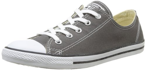 Converse Womens Chuck Taylor All Star Dainty Ox Sneaker Charcoal Size 8