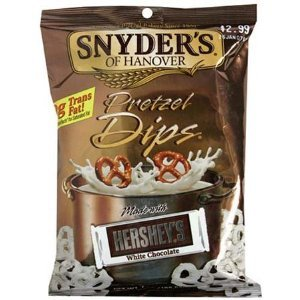 Snyder of Hanover White Chocolate Mini Pretzel 4.5 oz. (Pack of 8) (Pretzels White Chocolate compare prices)