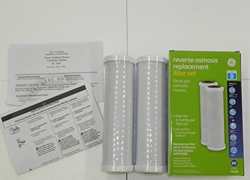 GE FX12P Reverse Osmosis Replacement Filter Set (Ge Reverse Osmosis Gxrm10rbl compare prices)