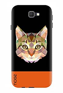 Noise Designer Printed Case / Cover for Samsung Galaxy J7 Prime / Animated Cartoons / Crystal Cat Design