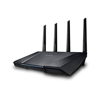 Asus AC2400 RT AC87U Dual-Band Wireless Gigabit Router (Black)