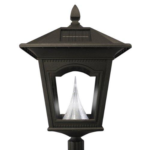 peking solar lamp post and single lamp led light fixture ez anchor b. Black Bedroom Furniture Sets. Home Design Ideas