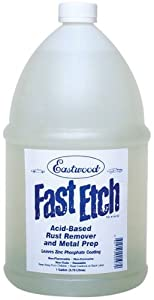 Eastwood Fast Etch Rust Remover / Dissolver - 1 Gallon by Eastwood