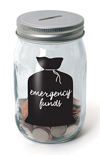 Classic Mason Jar Coin Bank - Piggy Bank for Girls Boys Kids Children - Money Saving Jar Helps in Learning to Count, Save and Development of other Basic Learning and Money Skills by Perfect Life Ideas