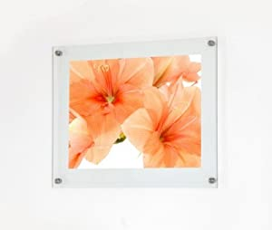 frameless glass picture frame 498 x 410 mm