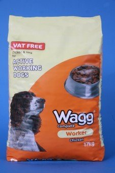Wagg Complete Working Dog Food - Chicken