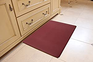 Kingston Collection Premium Anti-Fatigue Comfort Mat. Multi-Purpose Decorative Non-Slip Standing Mat for the Kitchen, Bathroom, Laundry Room or Office. By Home Fashion Designs.