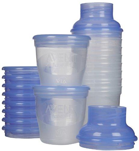 Avent VIA Breast Milk Storage 6 oz – 10 Pk