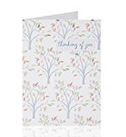 Thinking of You Tree Greetings Card