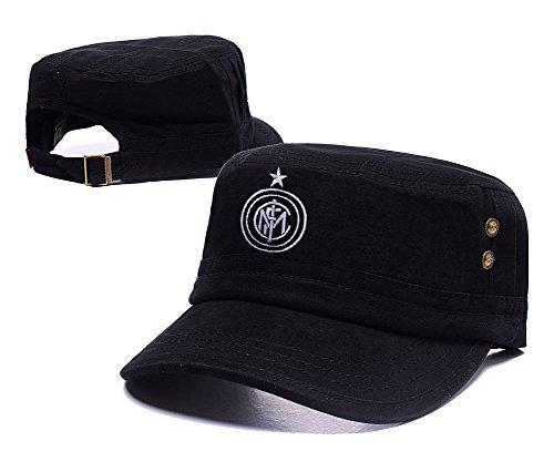 Football-Club-Internazionale-Milano-Inter-Milan-Embroidery-Flat-Hat-Cap-chapeau
