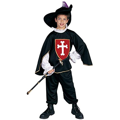 Child's Musketeer Halloween Costume (Size: Large 12-14)