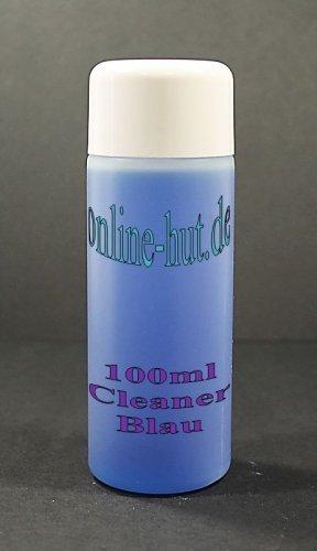 online-hut 100ml Nagel Cleaner Blau mit Doppelwandverschluss