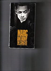 Marc Anthony The Concert From Madison Square Garden Vhs Marc Anthony Marty
