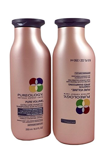 Pureology PureVolume Shampoo 8.5oz and Conditioner 8.5oz Duo ... New Formula! by Pureology