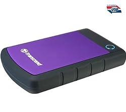 Transcend StoreJet 25H2P 2.5 inch 1 TB External Hard Disk (Purple)