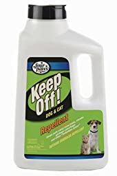 Four Paws Keep Off! Dog & Cat Outdoor Granular Repellent Durable Container 2lbs