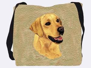 Yellow Lab Tote Bag - 17 x 17 Tote Bag
