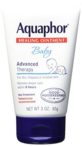 Eucerin Aquaphor Baby Healing Ointment, 3 Ounce - 1