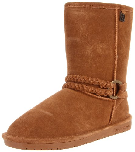 BEARPAW Women's Adele Snow Boot,Hickory,6 M US