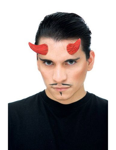 Costume-Accessory Demon Horns Red Halloween Costume Item - 1 size
