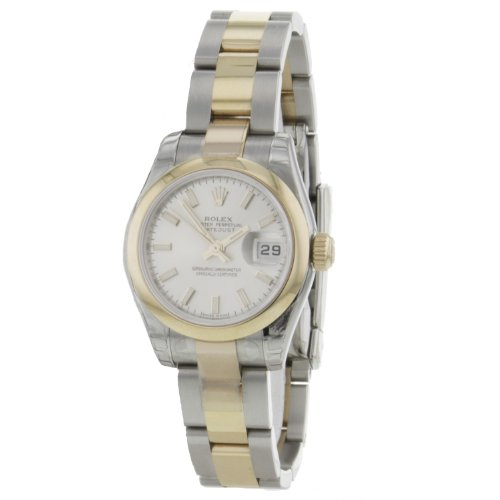 Rolex Oyster Perpetual Datejust 179161 Steel&Gold Pink Gold Automatic Ladies Watches