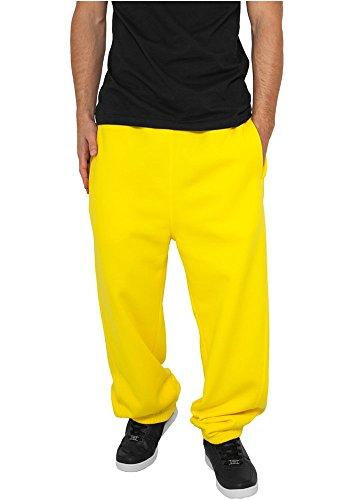 Urban Classics Pantaloni Tuta Da Uomo Giallo, 3Xl