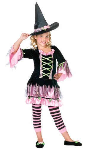 Fun World Kids Blossom Witch Costume